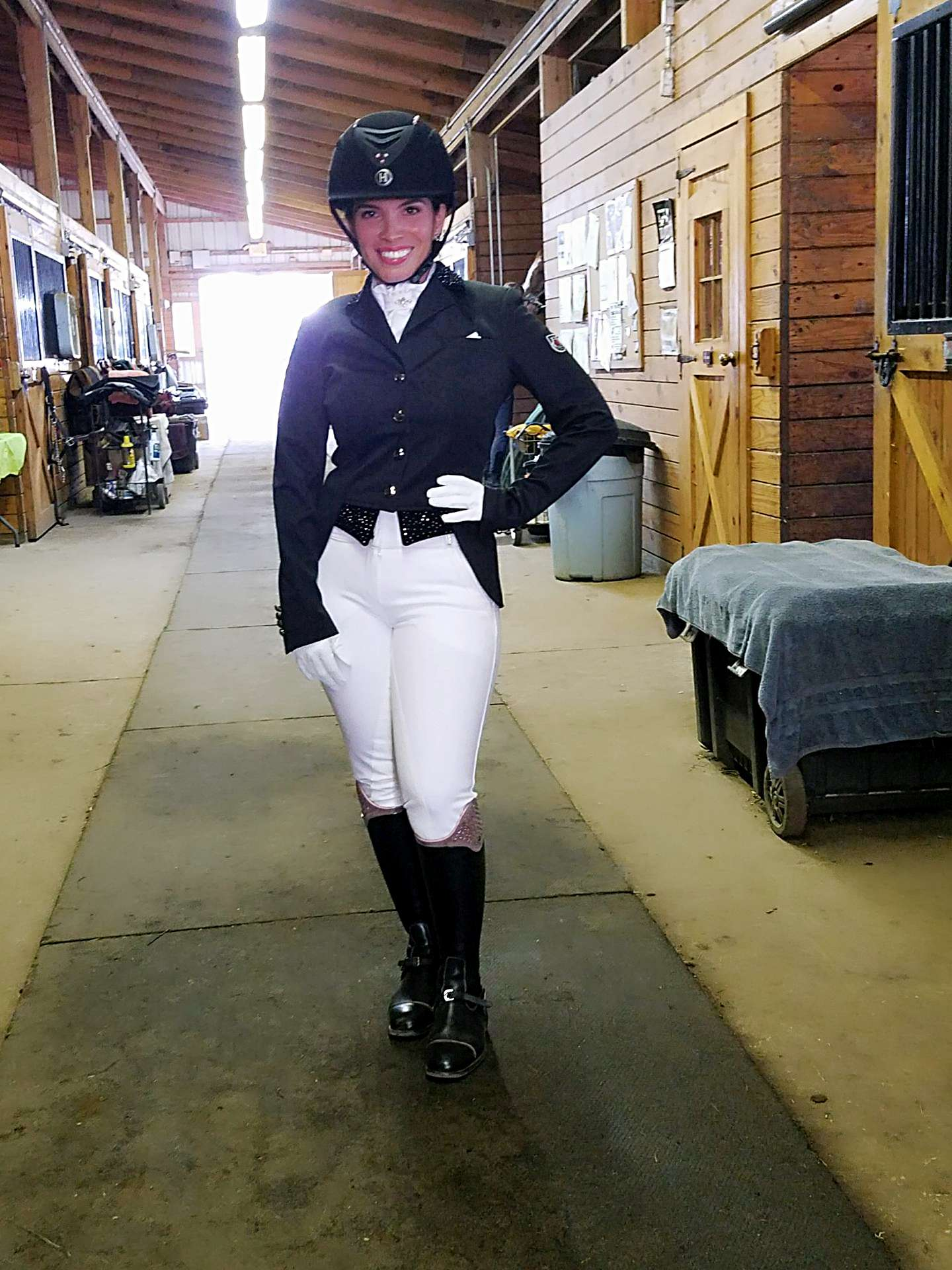 Shirley dressage outfit