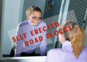 Selferrected roadblocks