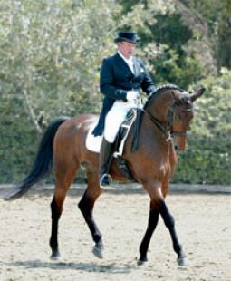 Dave with his horse Ricon